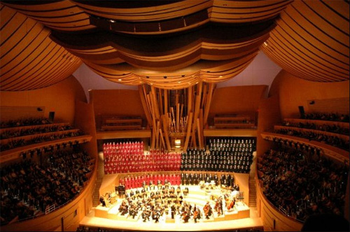 Disney Hall, Interior