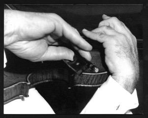 Erno Neufeld's Hands