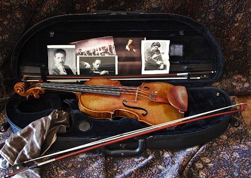 Arnold Steinhardt's Violin Case