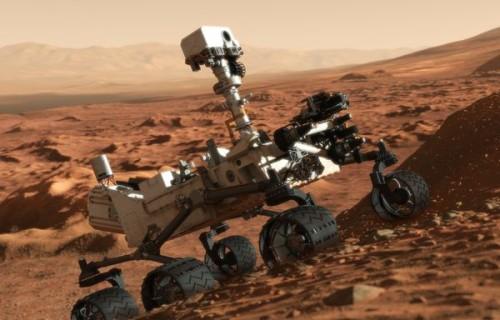 """Mars rover, """"Curiosity"""""""